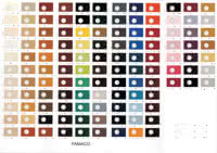 FAMACO Color Chart